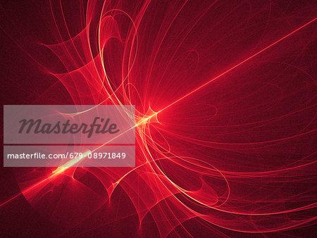 Red light pattern, artwork.