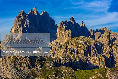 The Dolomites near The Three Peaks of Lavaredo (Tre Cime di Lavaredo), Auronzo di Cadore, Italy