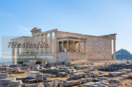 Erechtheion Acropolis, Athens, Attiki, Greece, Europe