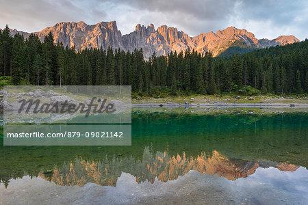 Carezza lake, Bolzano province - Trentino Alto Adige, Italy