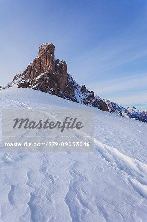 Gusela del Nuvolao, Ampezzo Dolomites, Cortina d'Ampezzo, Belluno, Veneto, Italy.