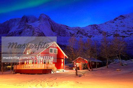 Mefjordvær village, Senja island, Norway