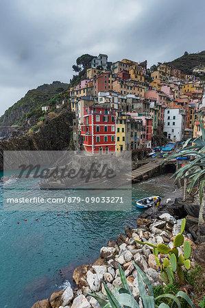 Riomaggiore, Cinque Terre, Riviera di Levante, Liguria, Italy
