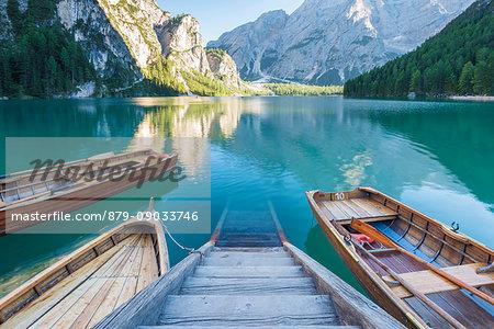 Lake Braies, Braies - Bolzano province , Trentino Alto Adige Italy