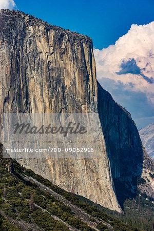 El Capitan, Yosemite Valley, Yosemite National Park, California, United States.