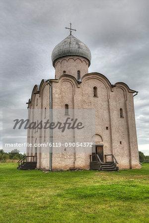 Church of Nereditsa, UNESCO World Heritage Site, Veliky Novgorod, Novgorod Oblast, Russia, Europe