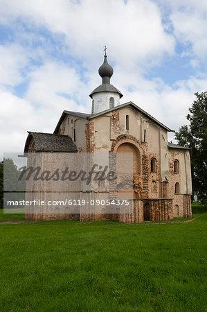 Paraskeva Church, 13th century, UNESCO World Heritage Site, Veliky Novgorod, Novgorod Oblast, Russia, Europe