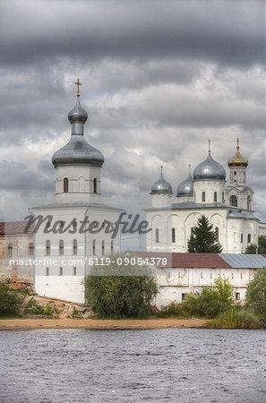 Zverin Monastery, UNESCO World Heritage Site, Veliky Novgorod, Novgorod Oblast, Russia, Europe
