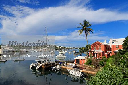 Harbour, Hamilton City, Pembroke Parish, Bermuda, Atlantic, Central America