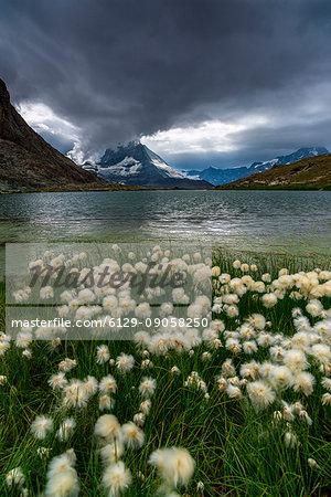 Riffelsee Lake, Matterhorn, Switzerland