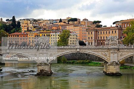 Tiber River, Rome, Lazio, Italy, Europe