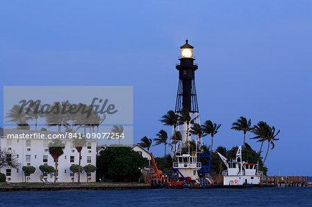 Hillsboro Lighthouse, Hillsboro Beach, Florida, United States of America, North America