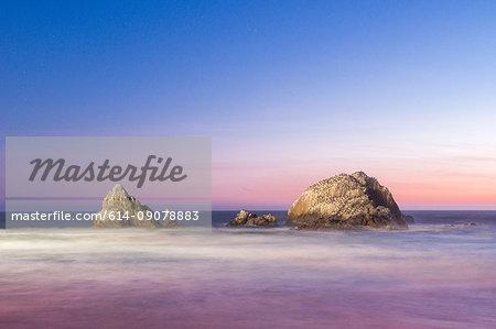 Seal Rocks, Sutro Baths, San Francisco, California, United States, North America