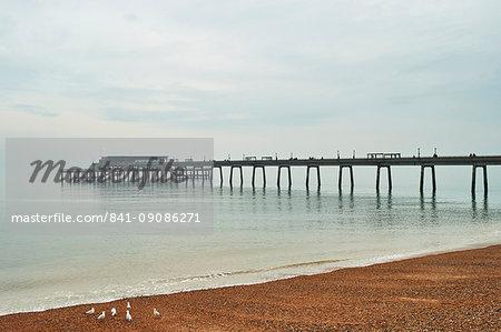 Jasin's Restaurant, Deal Pier, Deal, Kent, England, United Kingdom, Europe