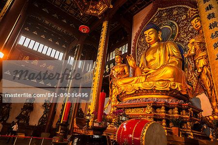 Lingyin Temple, Hangzhou, Zhejiang province, China, Asia