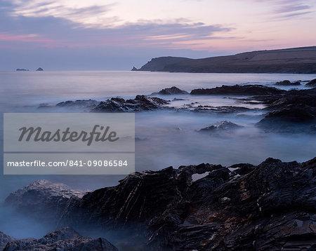 Coastal scene from Boobys Bay, Cornwall, England, United Kingdom, Europe