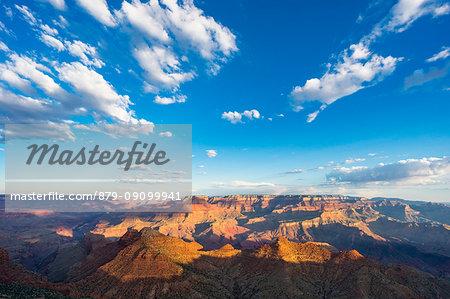 Sunrise at Desert View point, Grand Canyon South Rim, Tusayan, Arizona, USA