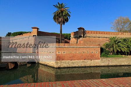 Fortezza Nuova, Livorno, Tuscany, Italy, Europe