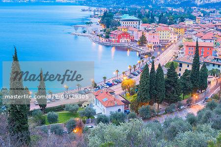 Torbole on Lake Garda Europe, Italy, Trentino, Torbole