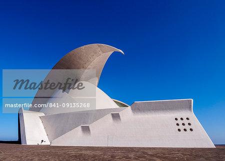 Auditorium Adan Martin, Santa Cruz de Tenerife, Tenerife Island, Canary Islands, Spain, Europe