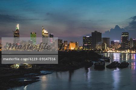 Skyline, Ho Chi Minh City, Vietnam, Indochina, Southeast Asia, Asia
