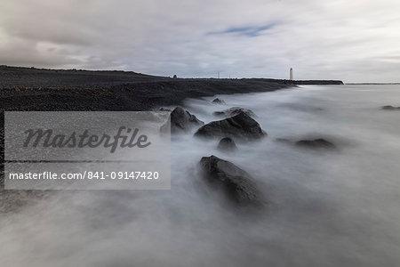 Malariff Lighthouse, Snaefellsnes, Iceland, Polar Regions