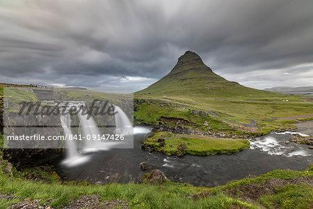Kirkjufell, Snaefellsnes, Iceland, Polar Regions
