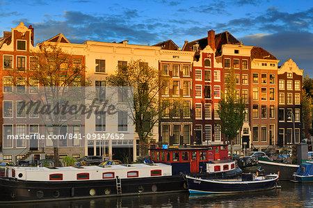 Amstel Street, Amsterdam, North Holland, Netherlands, Europe