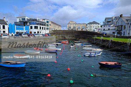 Portrush harbour, County Antrim, Ulster, Northern Ireland, United Kingdom, Europe