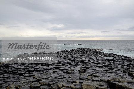 Giant's Causeway, UNESCO World Heritage Site, Bushmills, County Antrim, on the north coast of Northern Ireland, Ulster, Northern Ireland, United Kingdom, Europe