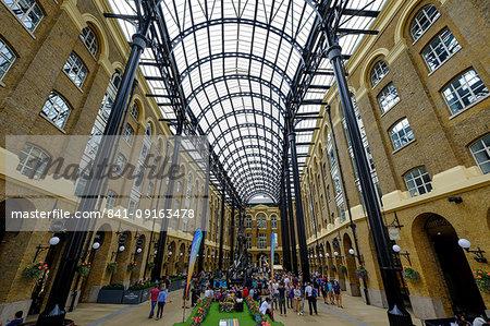Hay's Galleria, London, England, United Kingdom, Europe