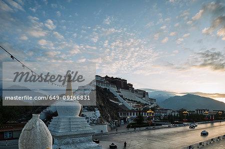 Potala Palace, Lhasa, Xizang, China