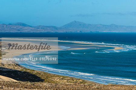 Beautiful lagoon on Risco Beach, Fuerteventura, Canary Islands, Spain, Atlantic, Europe
