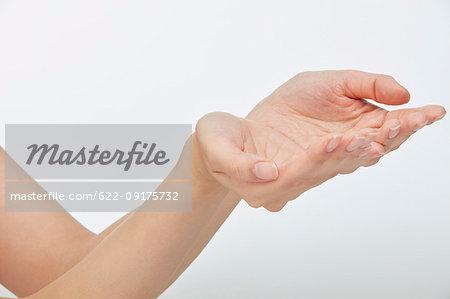 Japanese woman hands