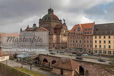 National Theatre, Nuremberg, Bavaria, Germany, Europe