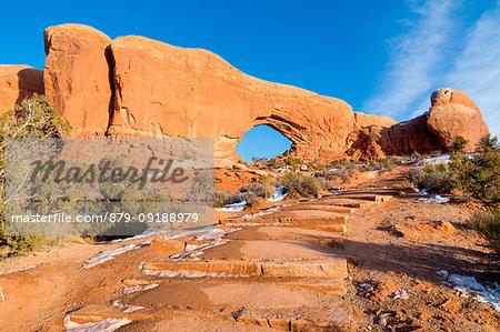 North Window, Arches National Park, Moab, Utah, USA