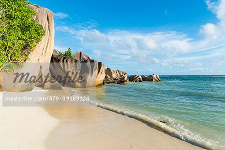 Anse Source d'Argent beach, La Digue island, Seychelles, Africa