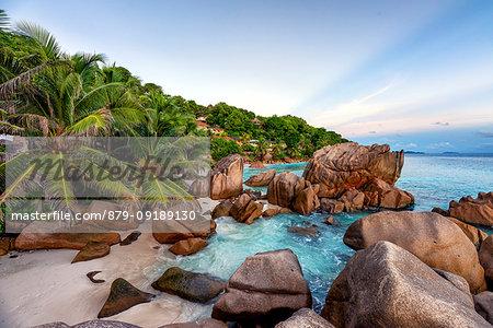 Anse Patates, La Digue, Seychelles, Africa