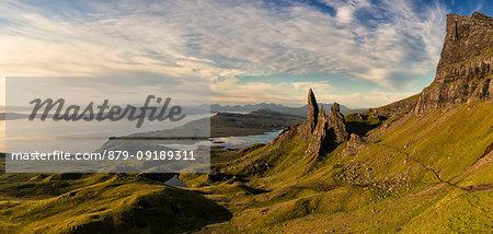 sunrise at Old Man of Storr, Isle of Skye, Inner hebrides, Scotland, Europe