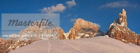 Pale di San Martino group, Dolomites, San Martino di Castrozza, Trento province, Trentino Alto Adige, Italy
