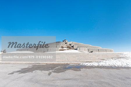 Monte Grappa, province of Vicenza, Veneto, Italy, Europe. The World War I ossuary