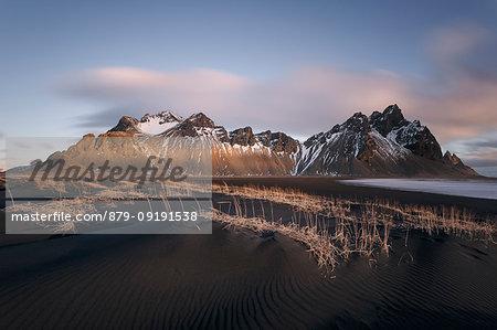 Vestrahorn at sunrise, Stokksnes, Hofn, southern Iceland