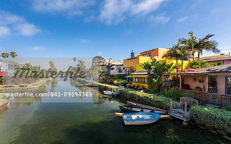 Venice Canals, Venice Beach, Los Angeles, California, United States of America, North America