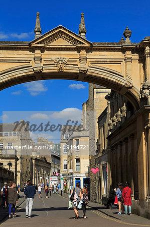 Main Arch, City of Bath, UNESCO World Heritage Site, Somerset, England, United Kingdom, Europe