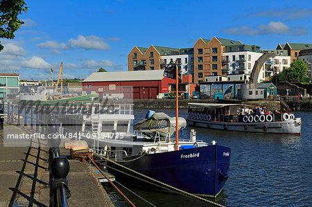 Hannover Quay, Bristol City, England, United Kingdom, Europe