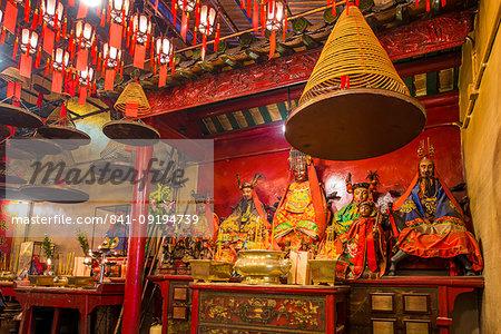 Man Mo Temple, Sheung Wan, Hong Kong Island, Hong Kong, China, Asia