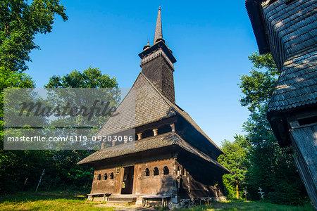 Church of St. Nicholas, UNESCO World Heritage Site, Sokyrnytsya, Western Ukraine, Europe