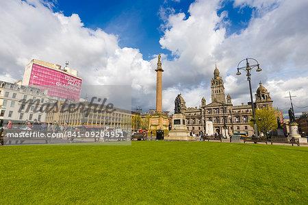 George Square, Glasgow, Scotland, United Kingdom, Europe