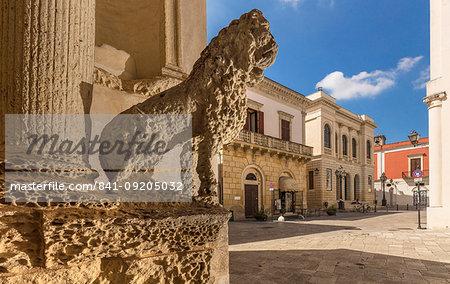Church of the Madonna del Carmine, Nardo, Puglia, Italy, Europe