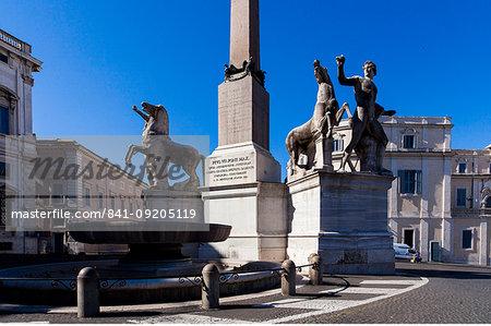Piazza del Quirinale, Rome, Lazio, Italy, Europe